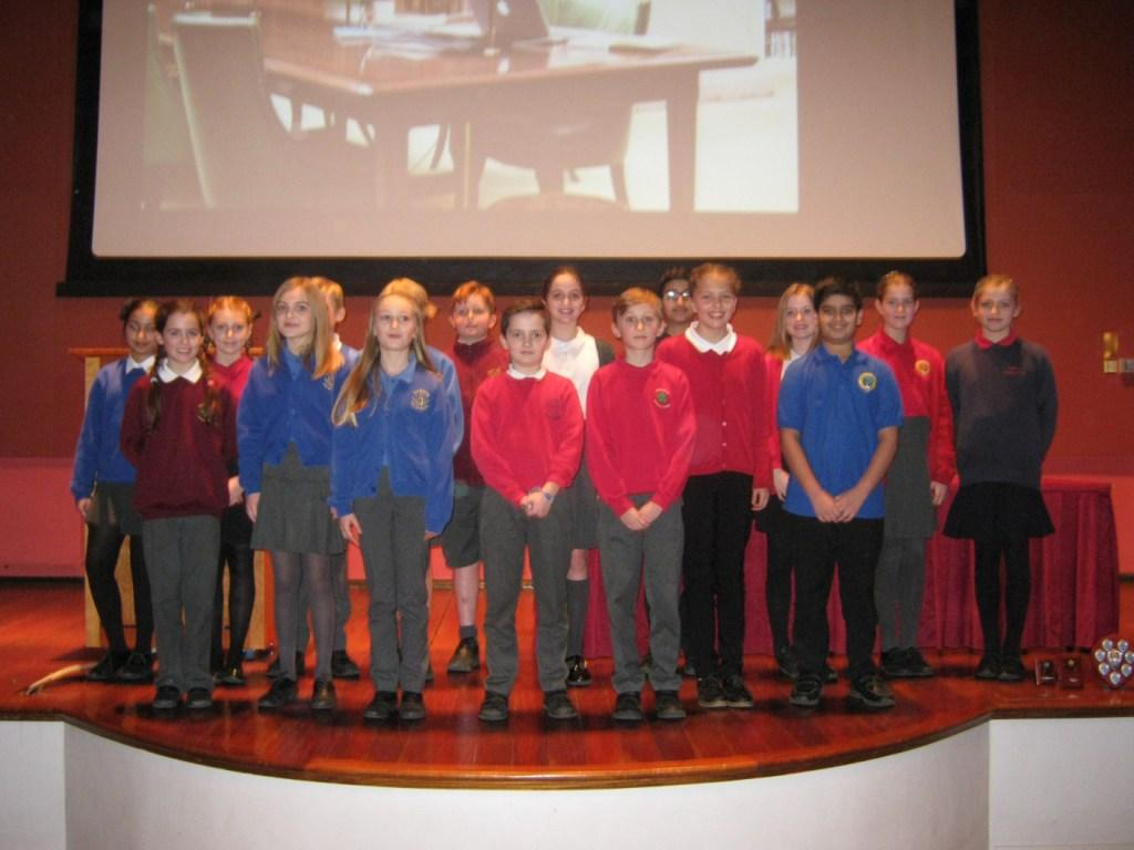 Year 5 and 6 Competitors
